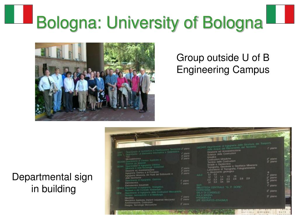 Bologna: University of Bologna