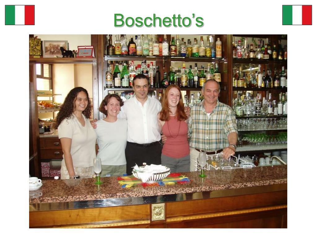 Boschetto's
