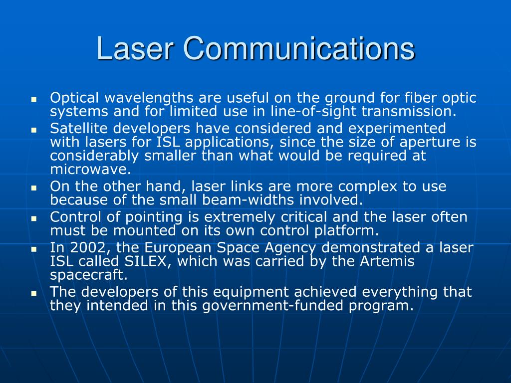 Laser Communications
