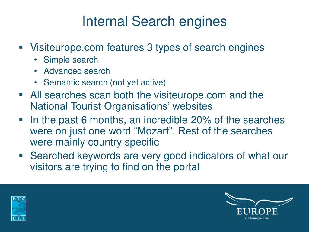 Internal Search engines