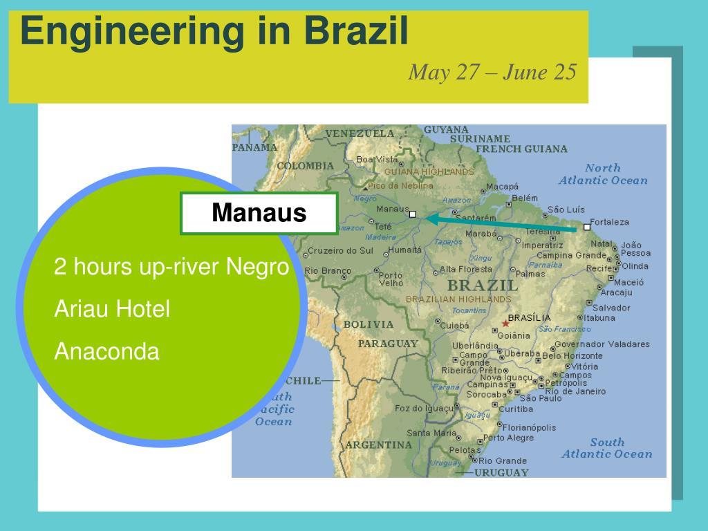 Engineering in Brazil