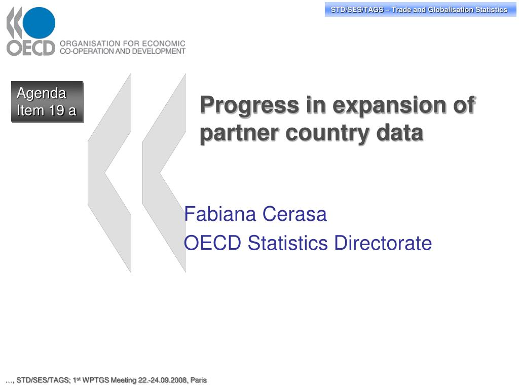 progress in expansion of partner country data