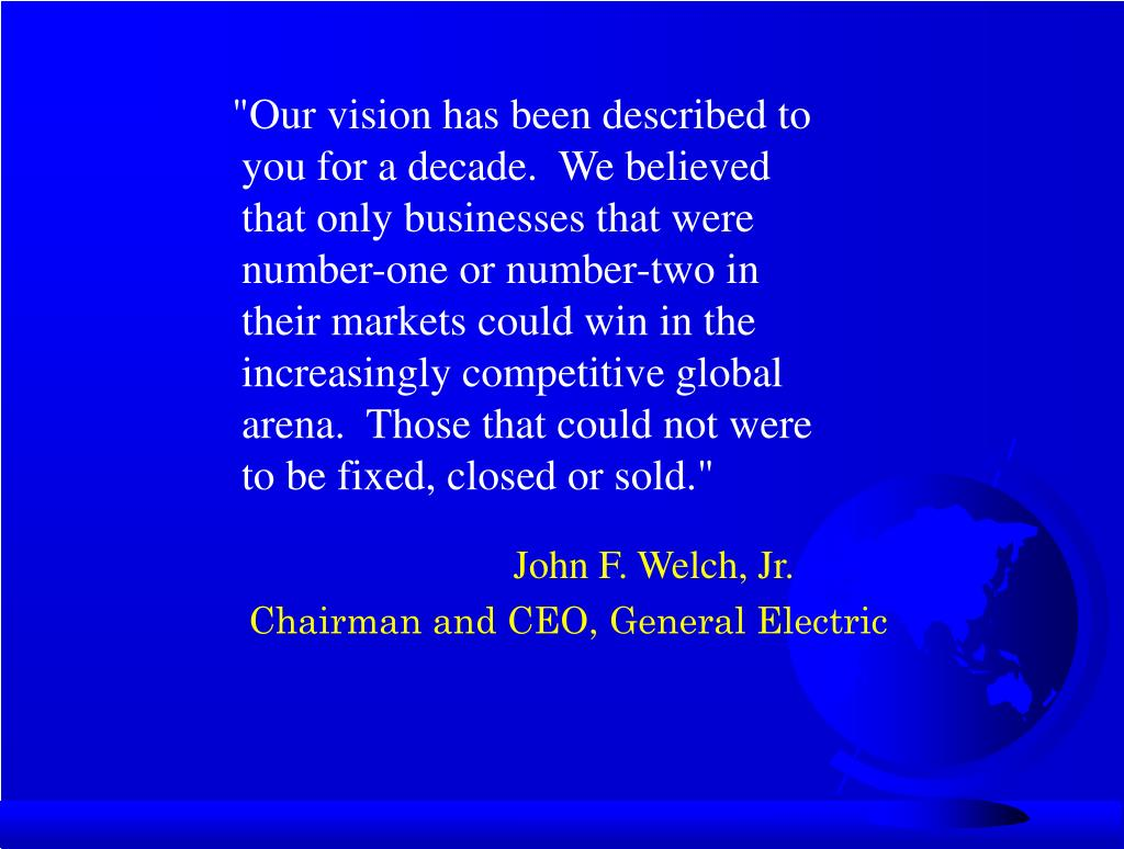 John F. Welch, Jr.