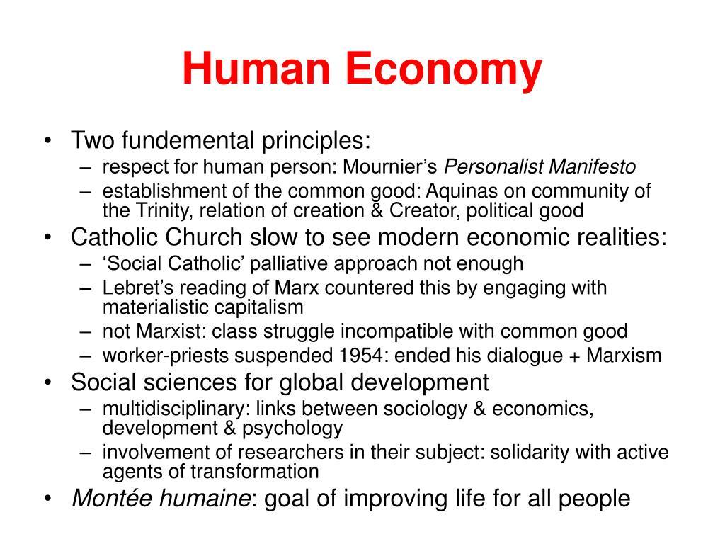 Human Economy