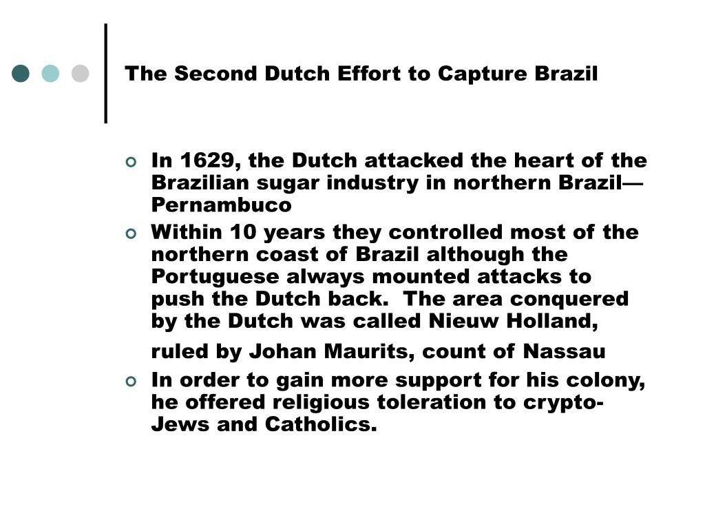 The Second Dutch Effort to Capture Brazil