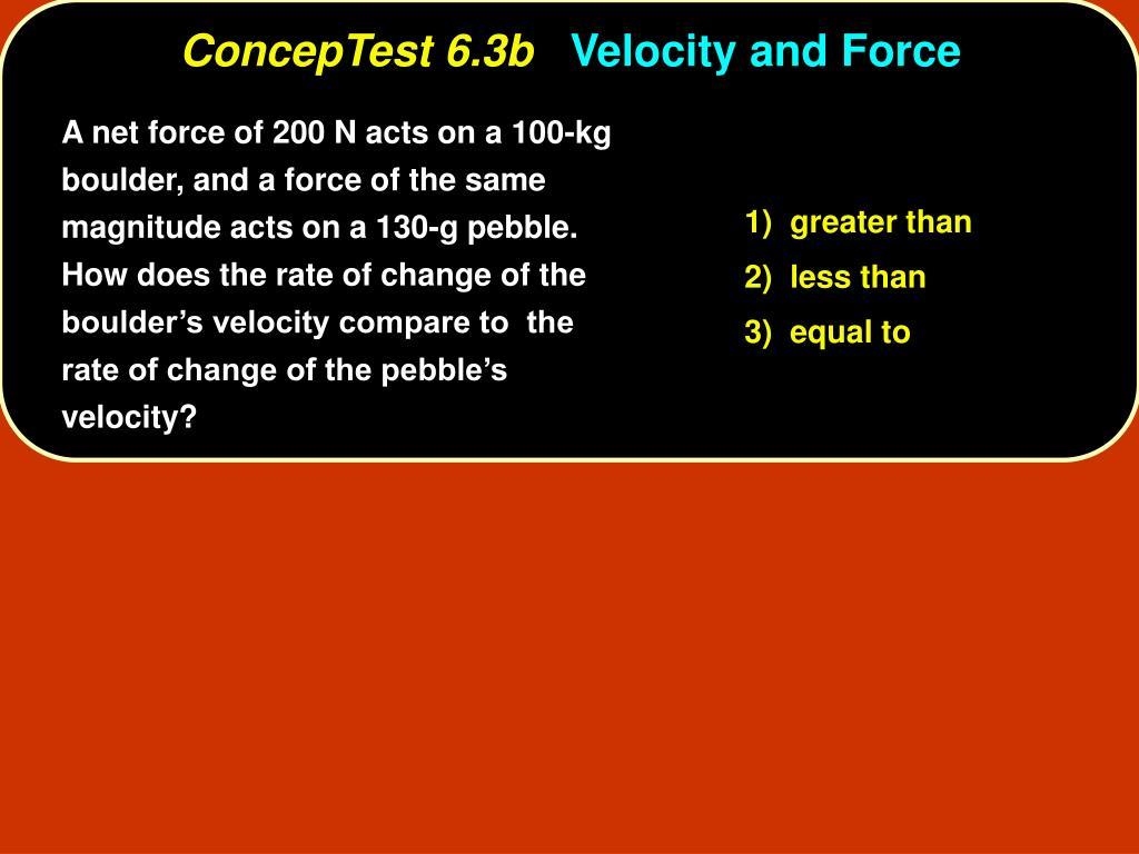 ConcepTest 6.3b