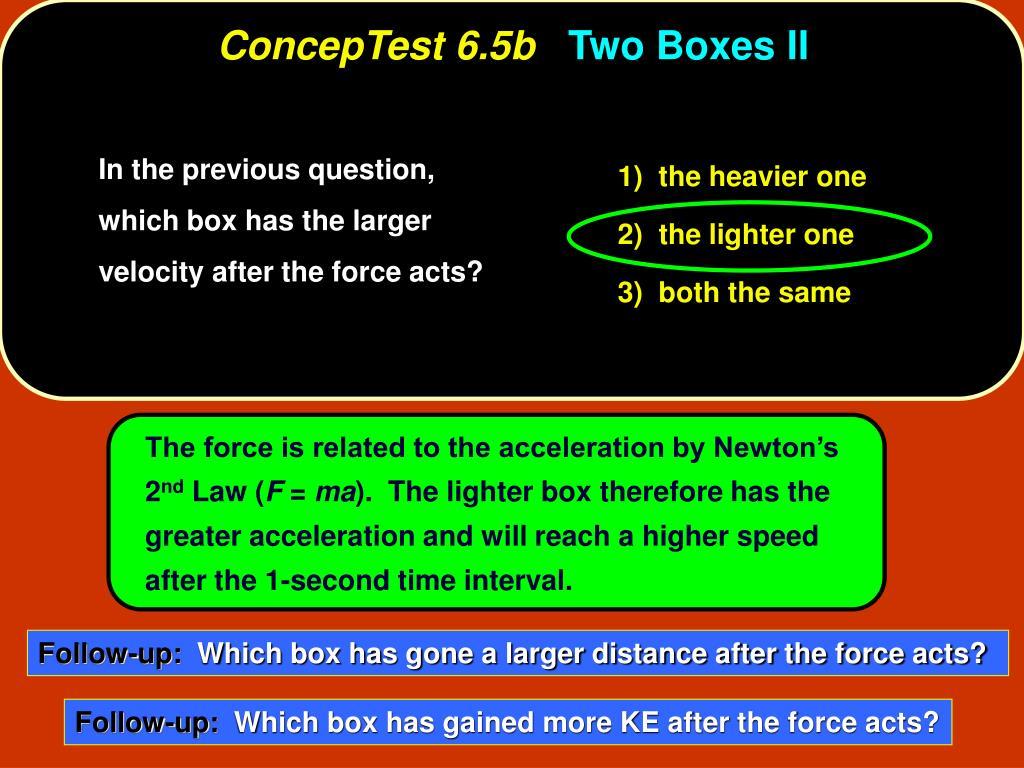 ConcepTest 6.5b