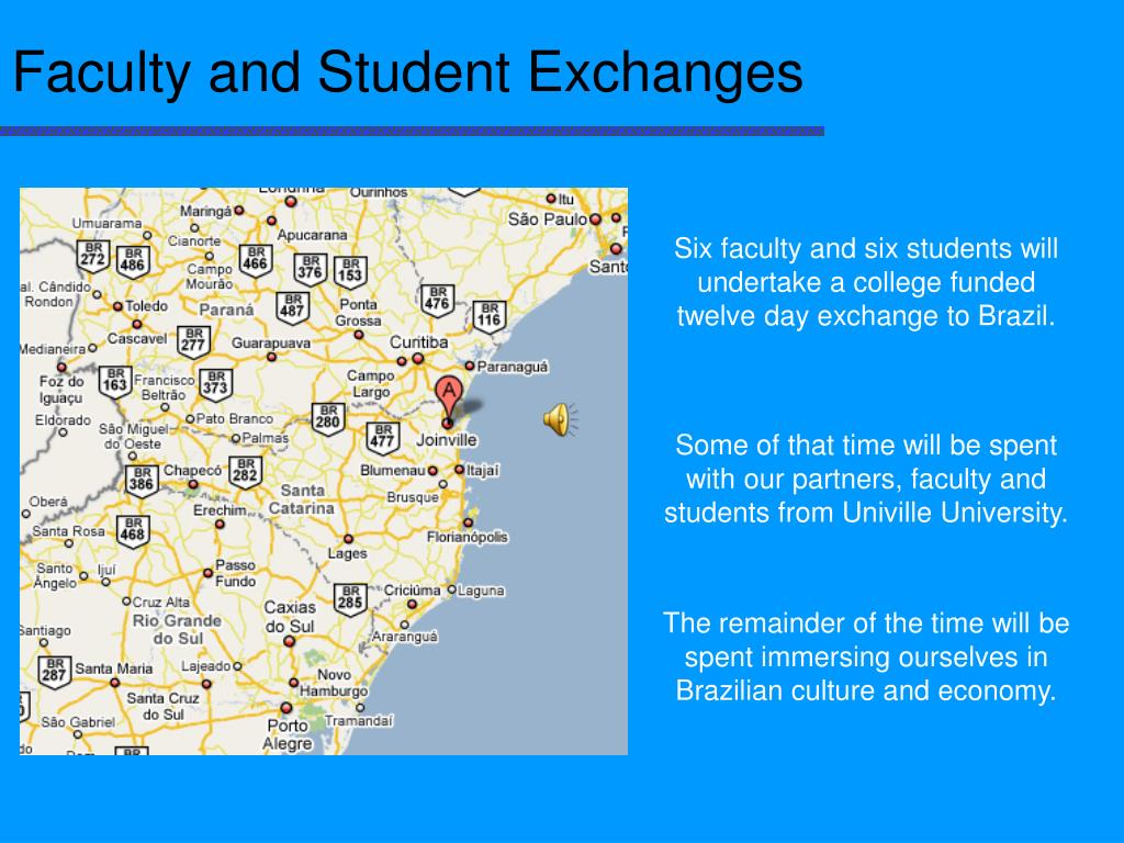 Faculty and Student Exchanges
