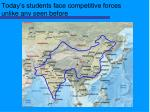 today s students face competitive forces unlike any seen before