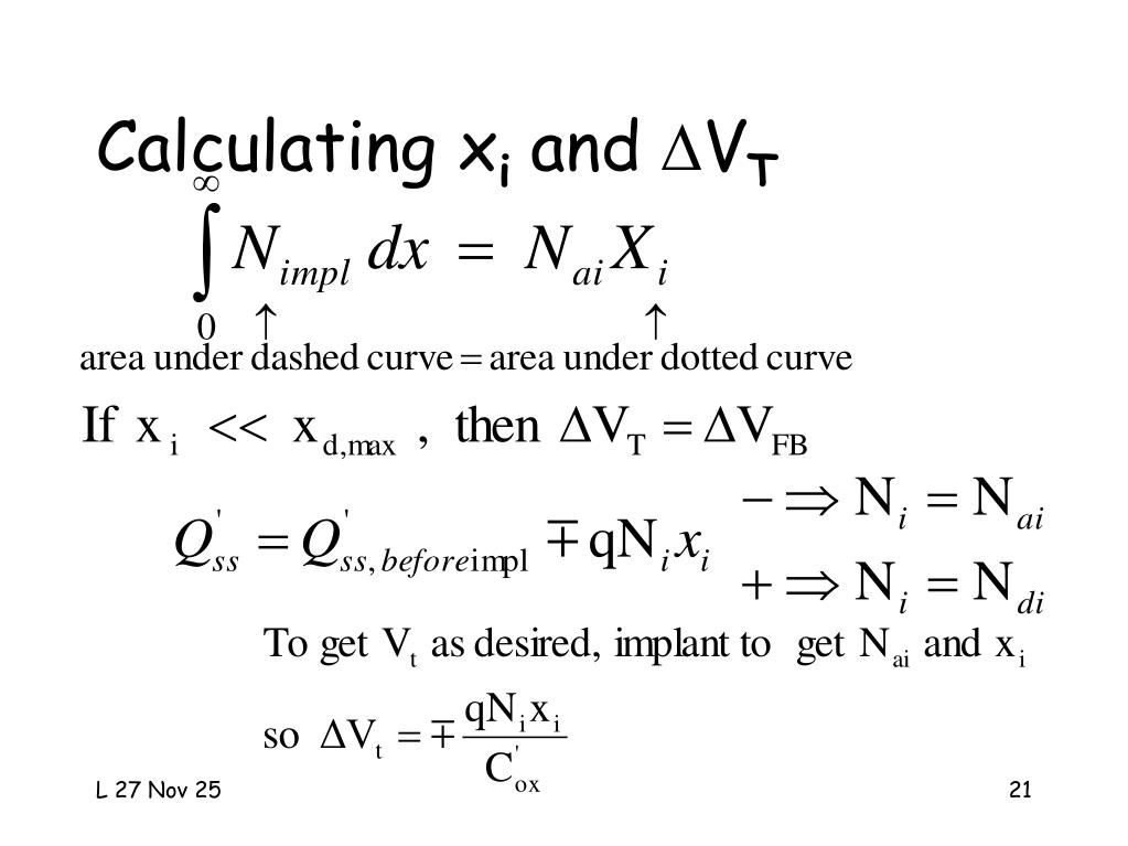 Calculating x
