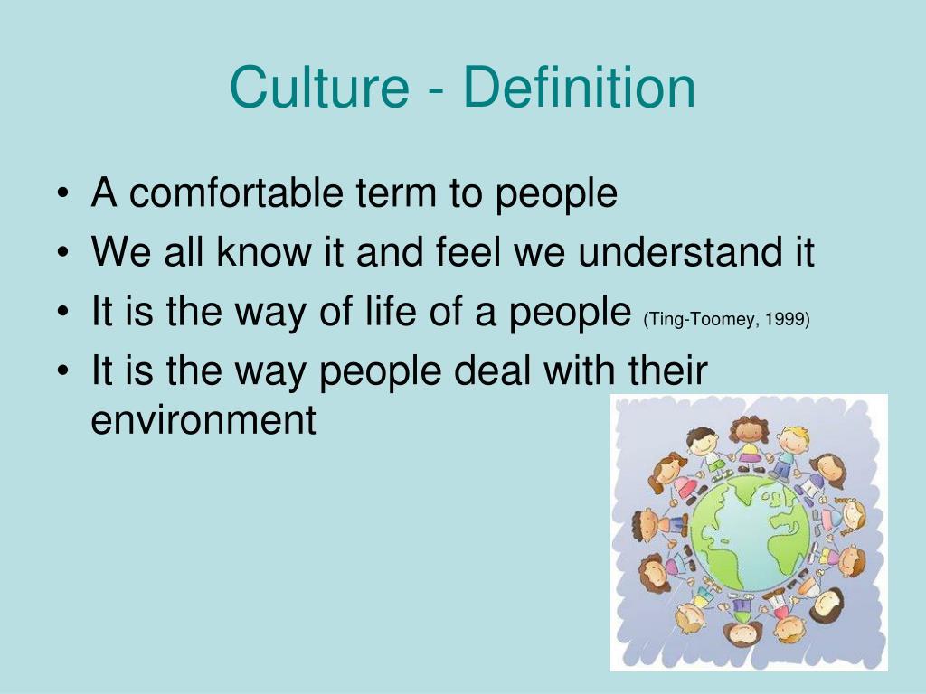 Culture - Definition