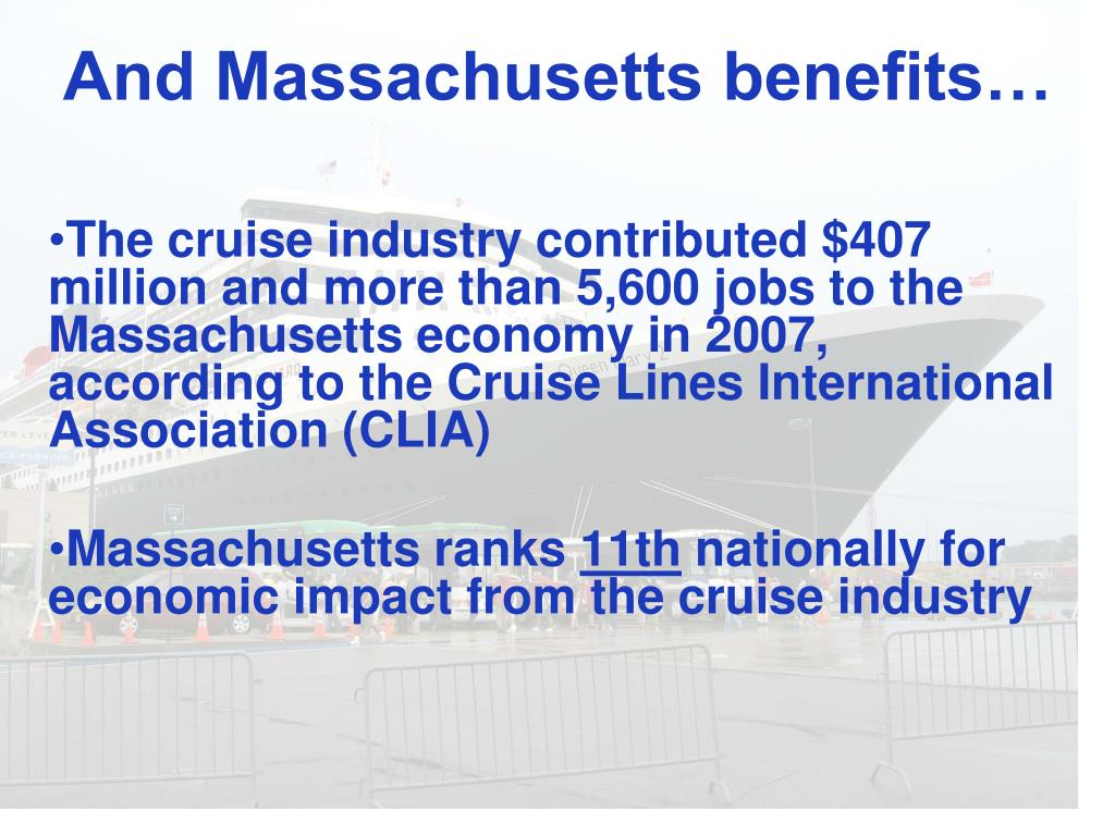And Massachusetts benefits…