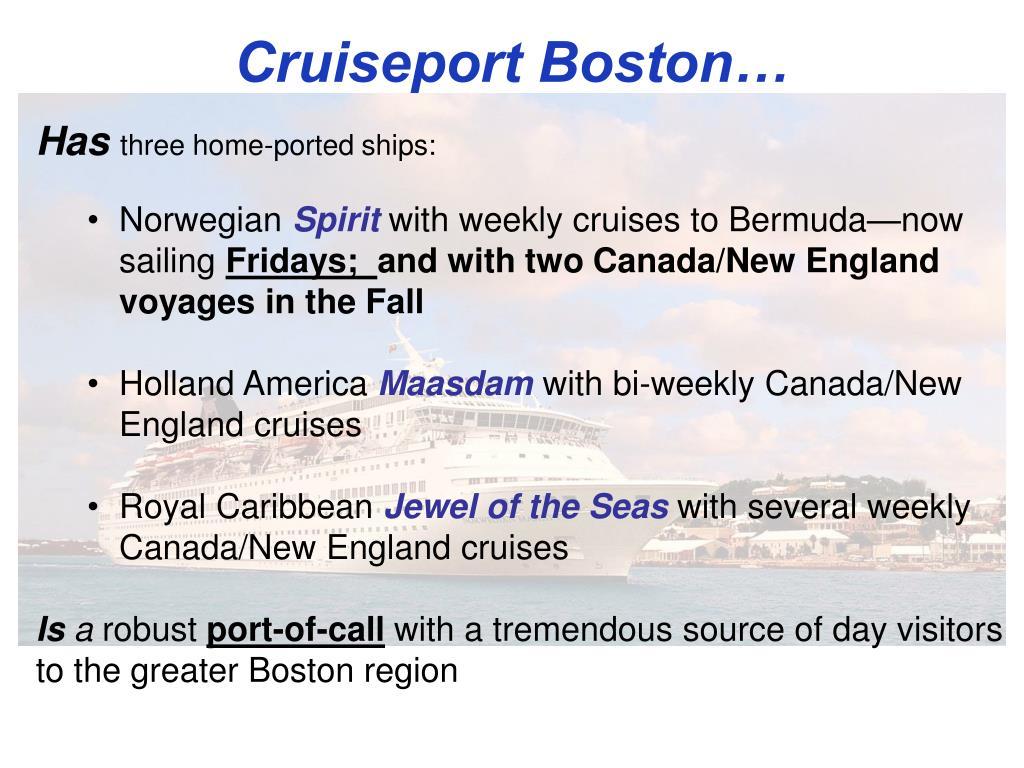 Cruiseport Boston…