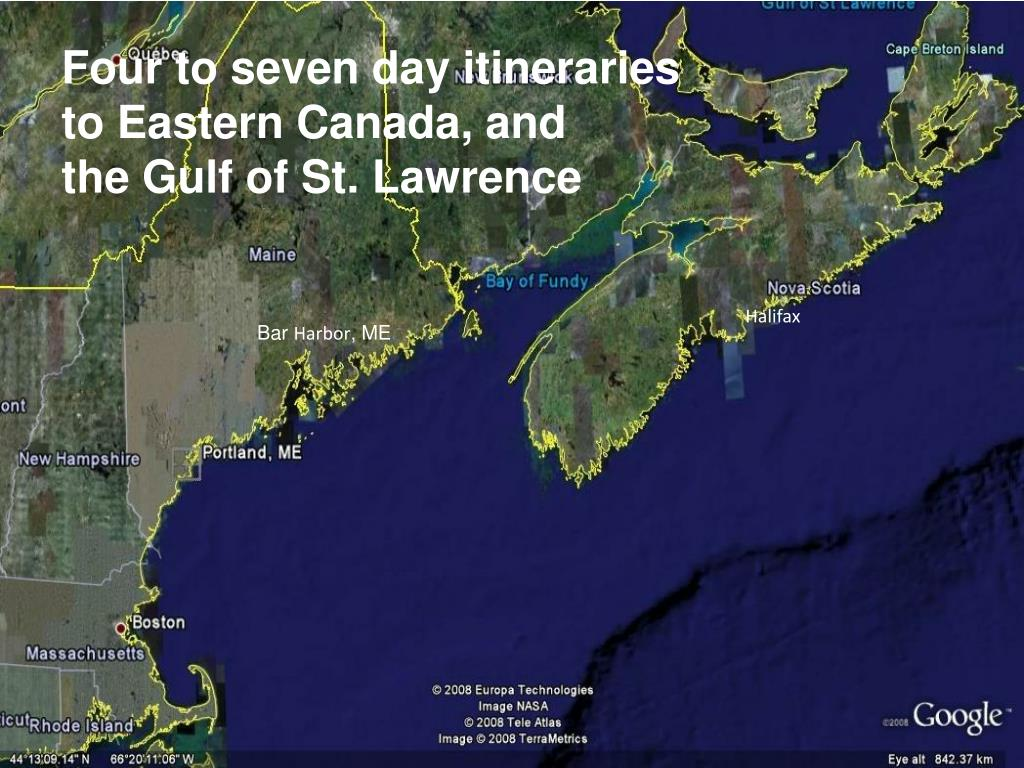Four to seven day itineraries
