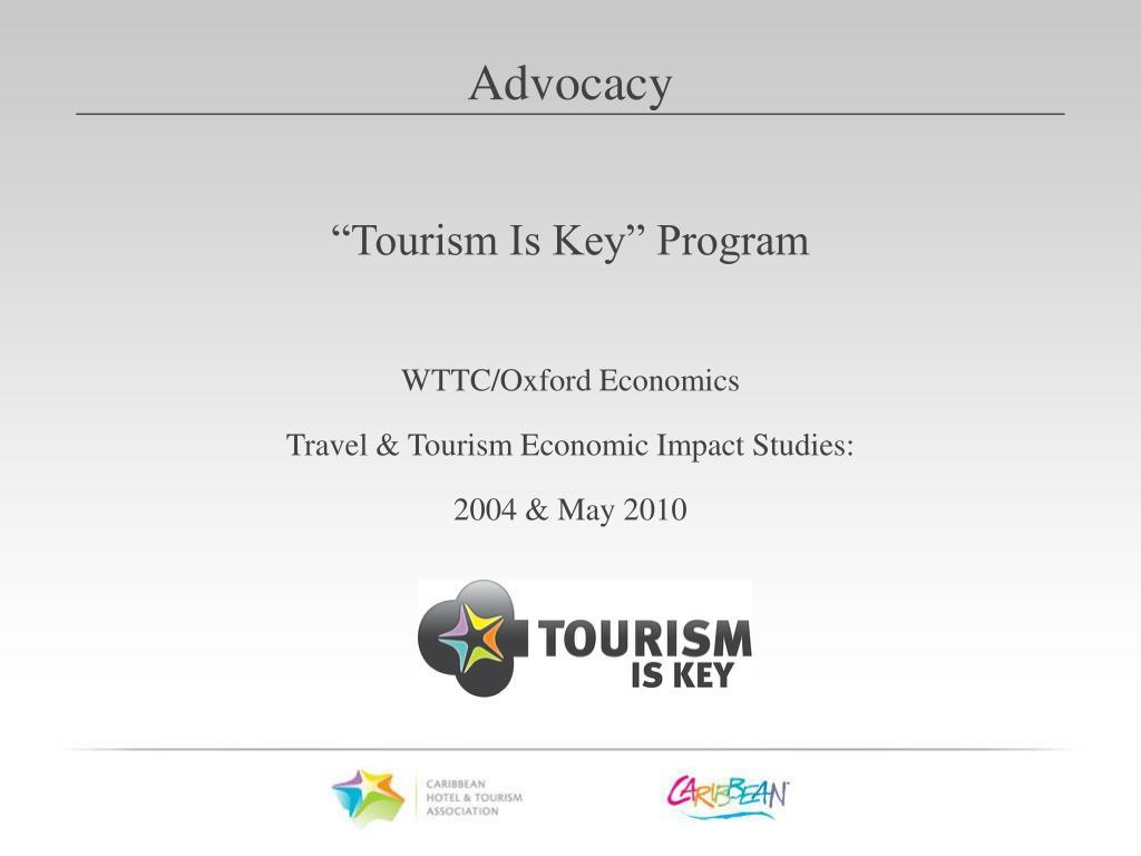 """Tourism Is Key"" Program"
