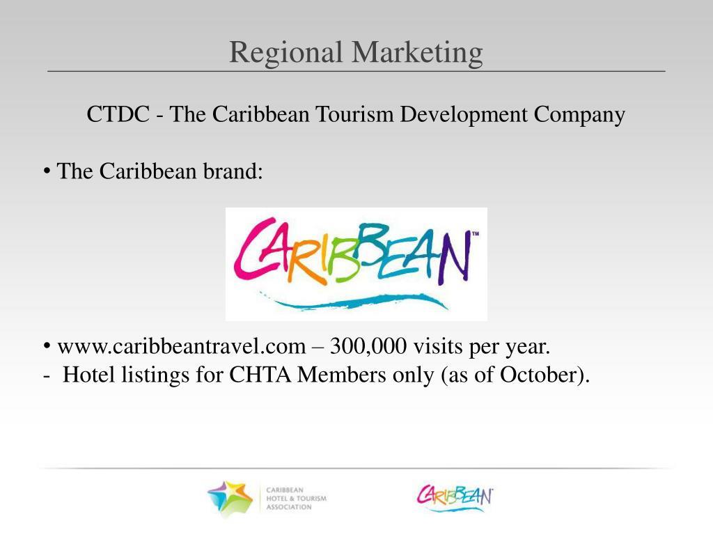 CTDC - The Caribbean Tourism Development Company