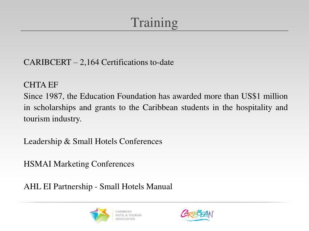 CARIBCERT – 2,164 Certifications to-date