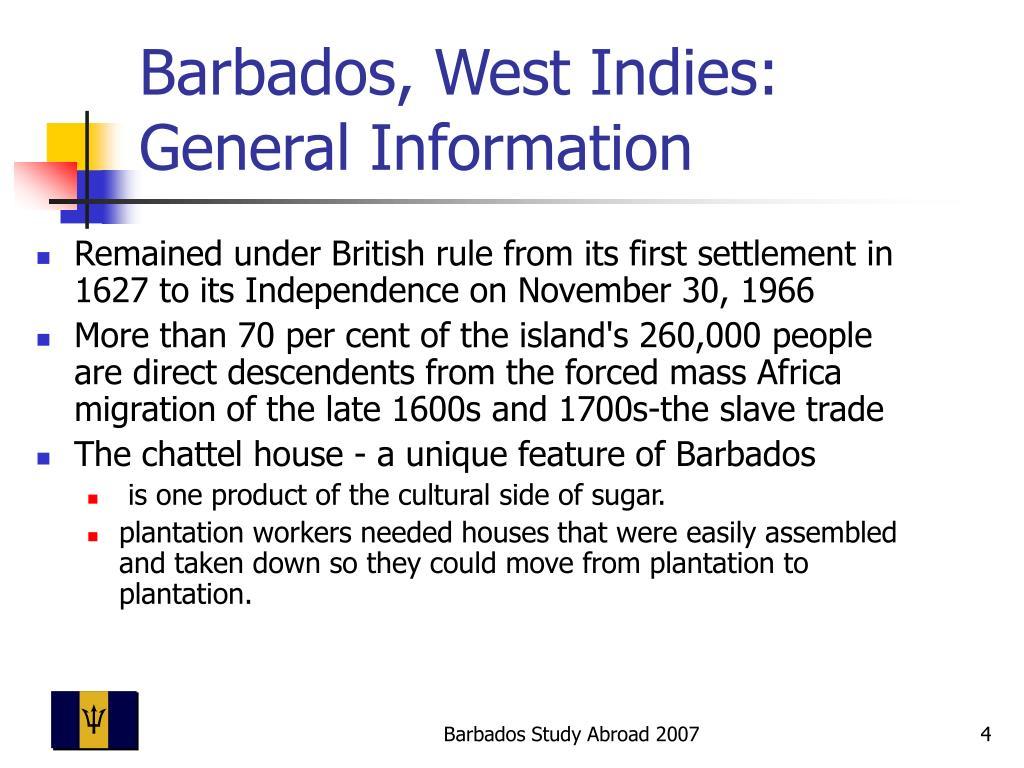 Barbados, West Indies: