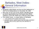 barbados west indies general information4
