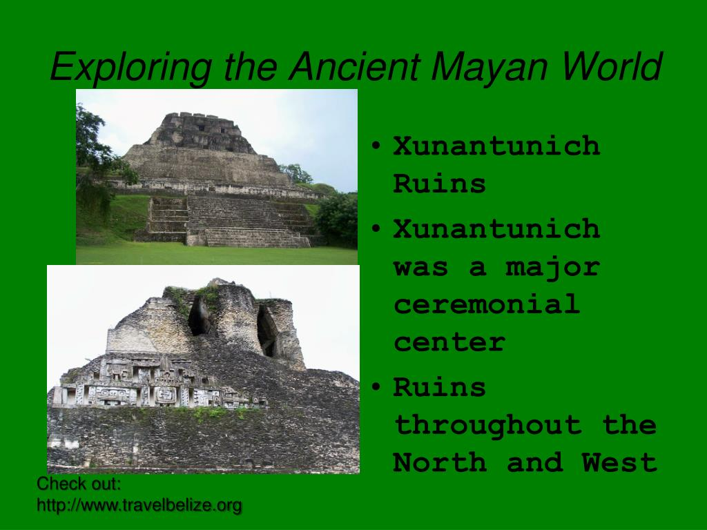 Exploring the Ancient Mayan World