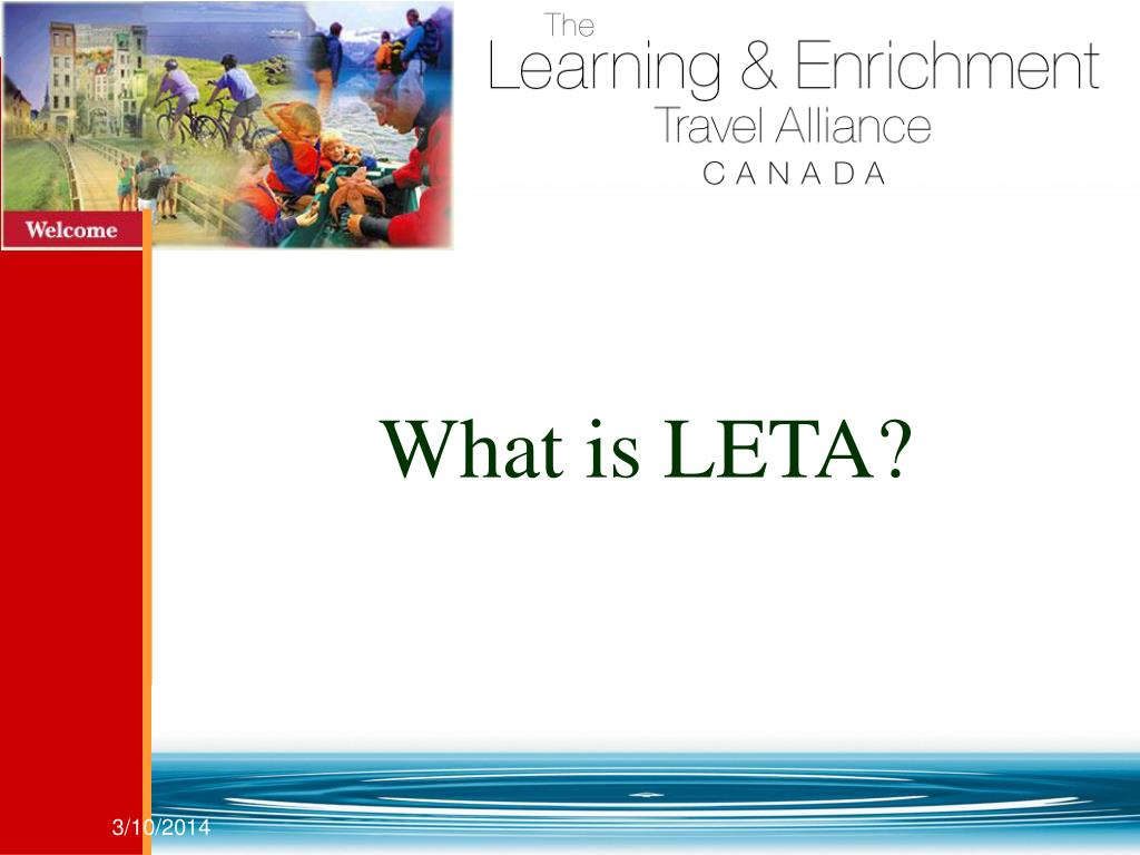 What is LETA?