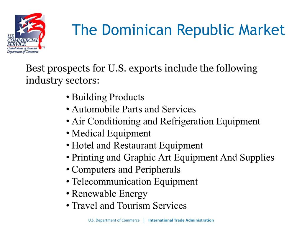 The Dominican Republic Market