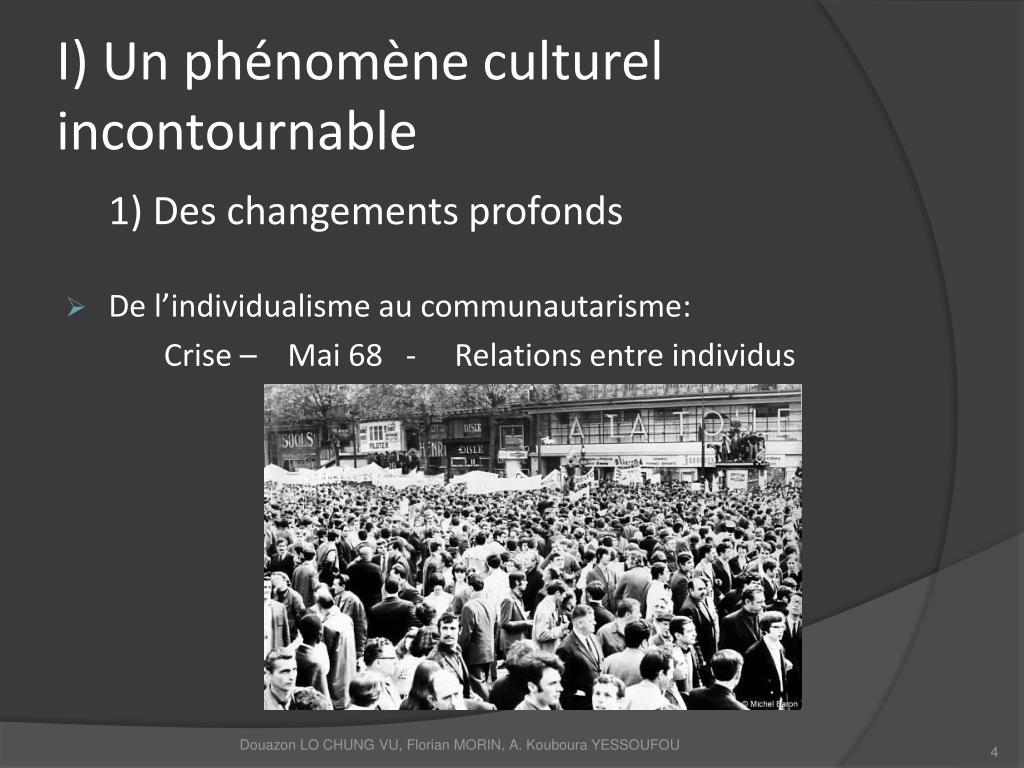 I) Un phénomène culturel incontournable