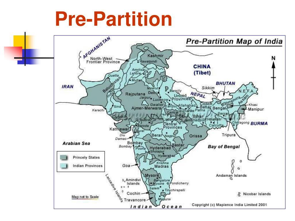Pre-Partition