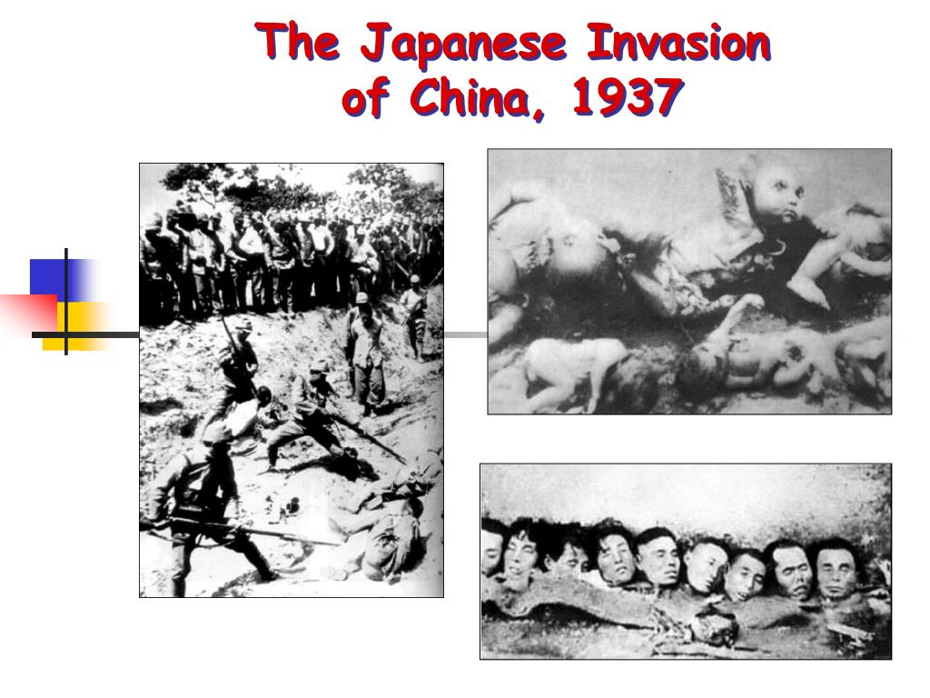 The Japanese Invasion