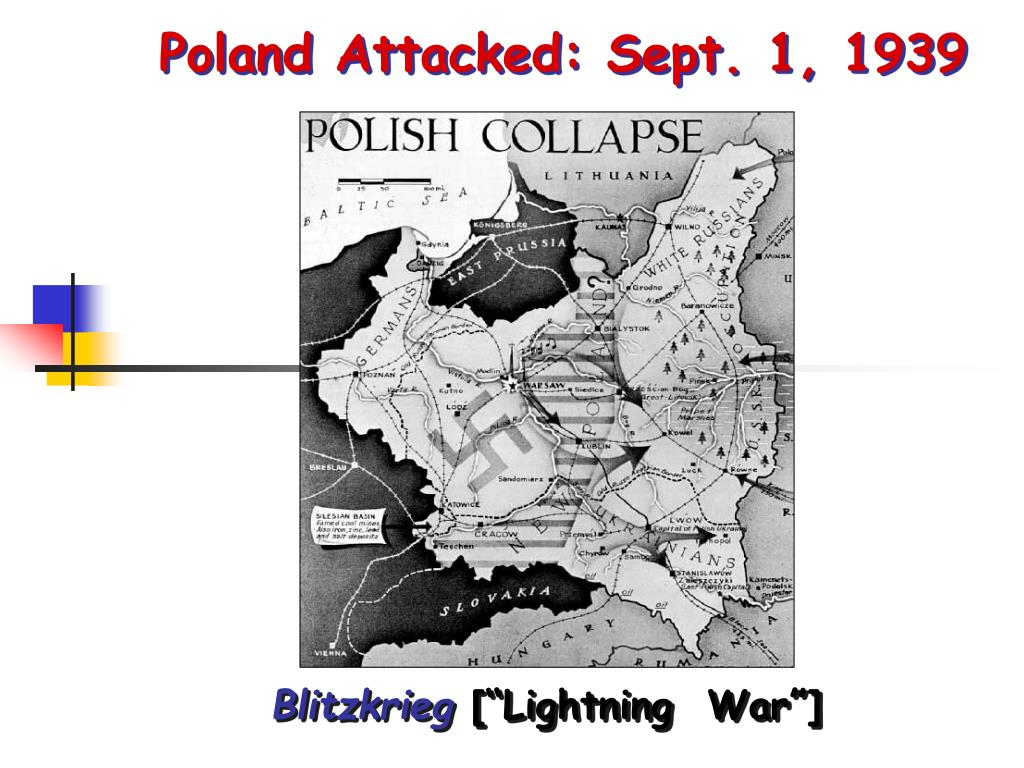 Poland Attacked: Sept. 1, 1939