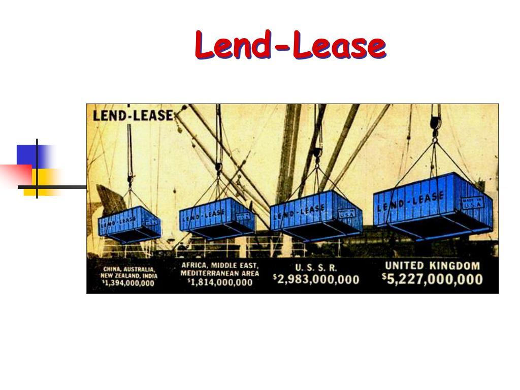 Lend-Lease