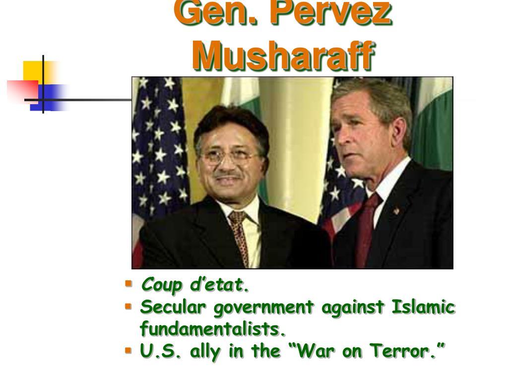 Gen. Pervez Musharaff