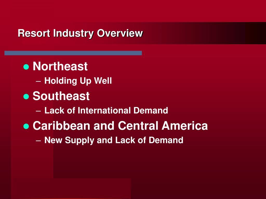 Resort Industry Overview