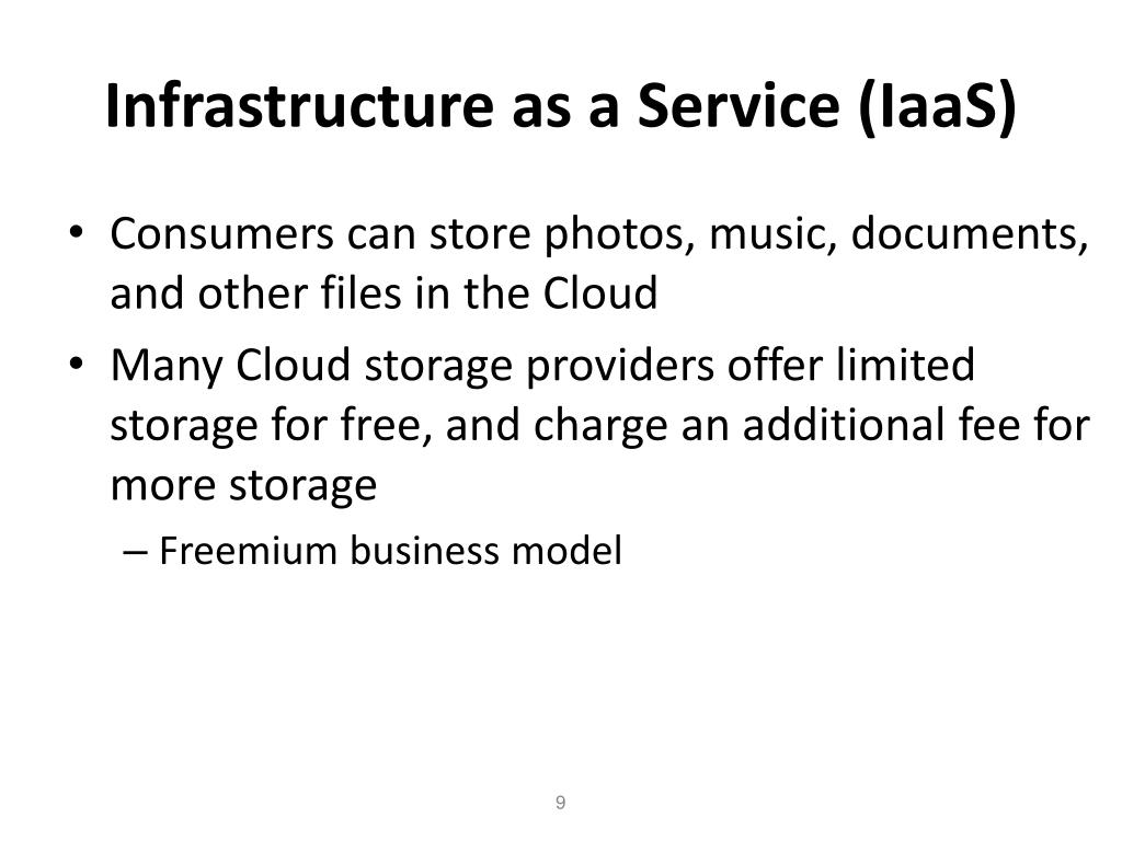 Infrastructure as a Service (