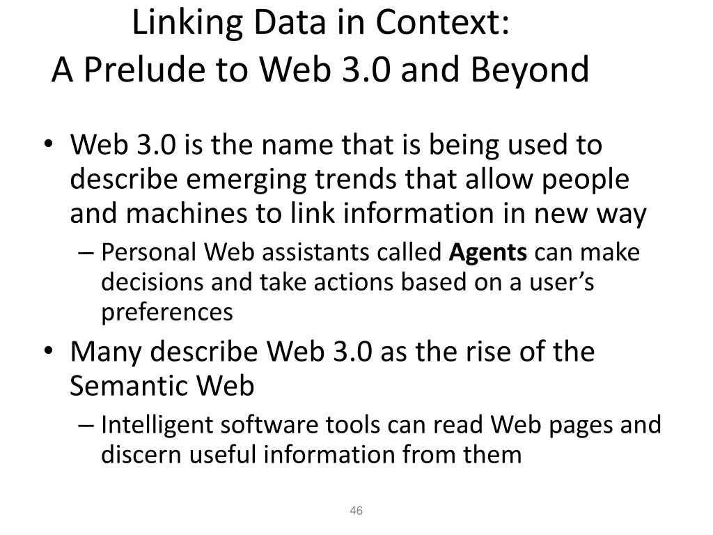 Linking Data in Context: