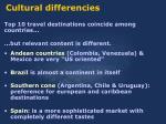 cultural differencies