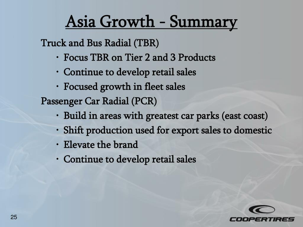 Asia Growth - Summary