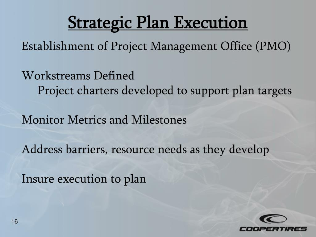 Strategic Plan Execution