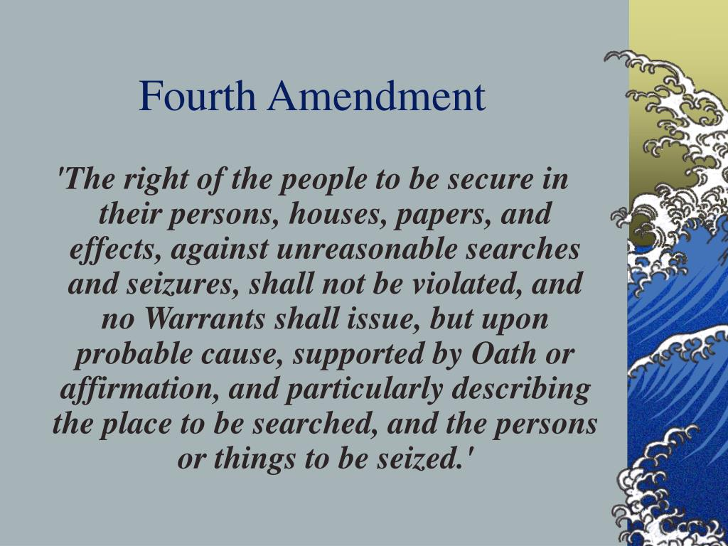 fourth amendment exceptions summary essay View and download fourth amendment essays into fourth amendment matters, the exception is followed by a summary of the research.