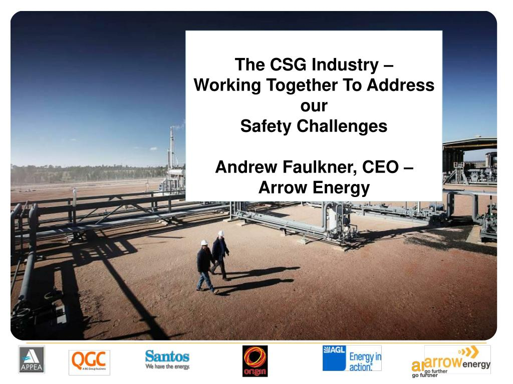 The CSG Industry –
