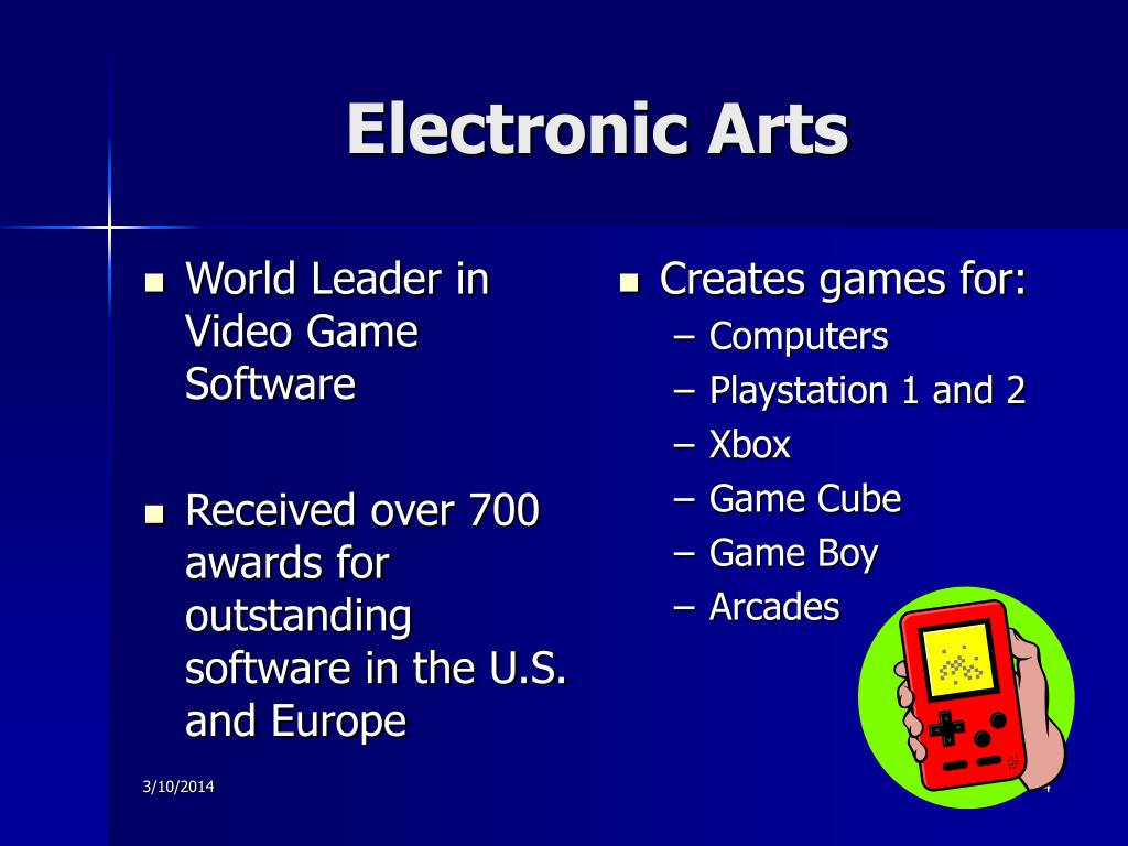 World Leader in Video Game Software