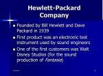 hewlett packard company10