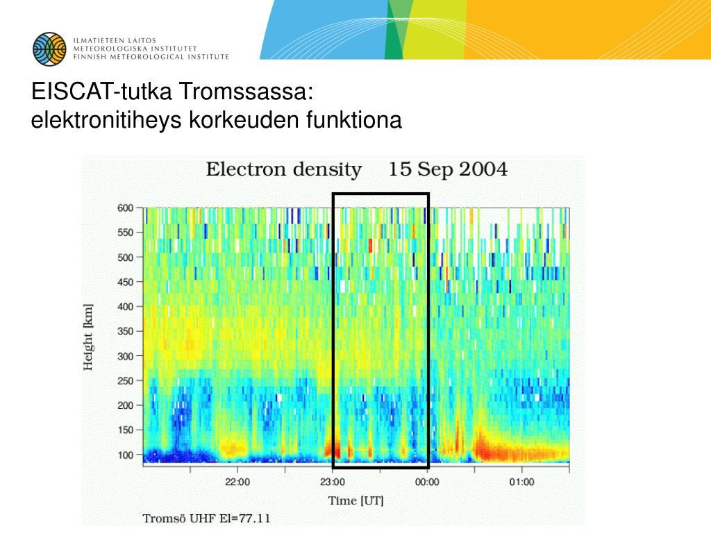 EISCAT-tutka Tromssassa: