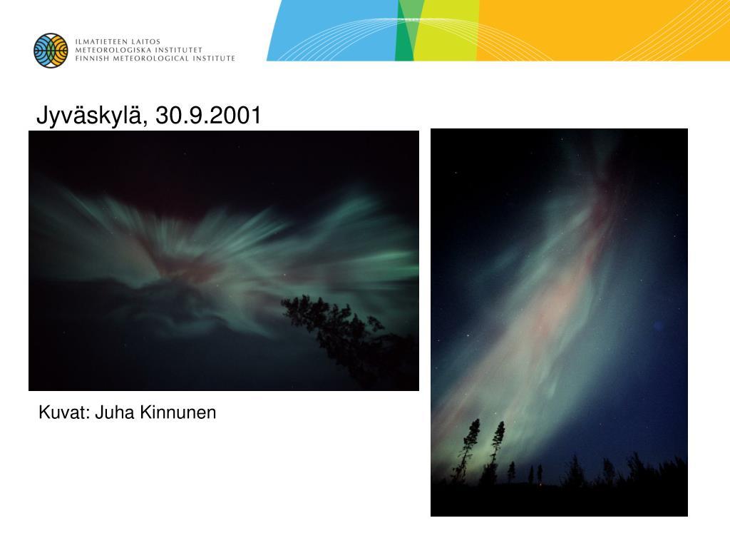 Jyväskylä, 30.9.2001