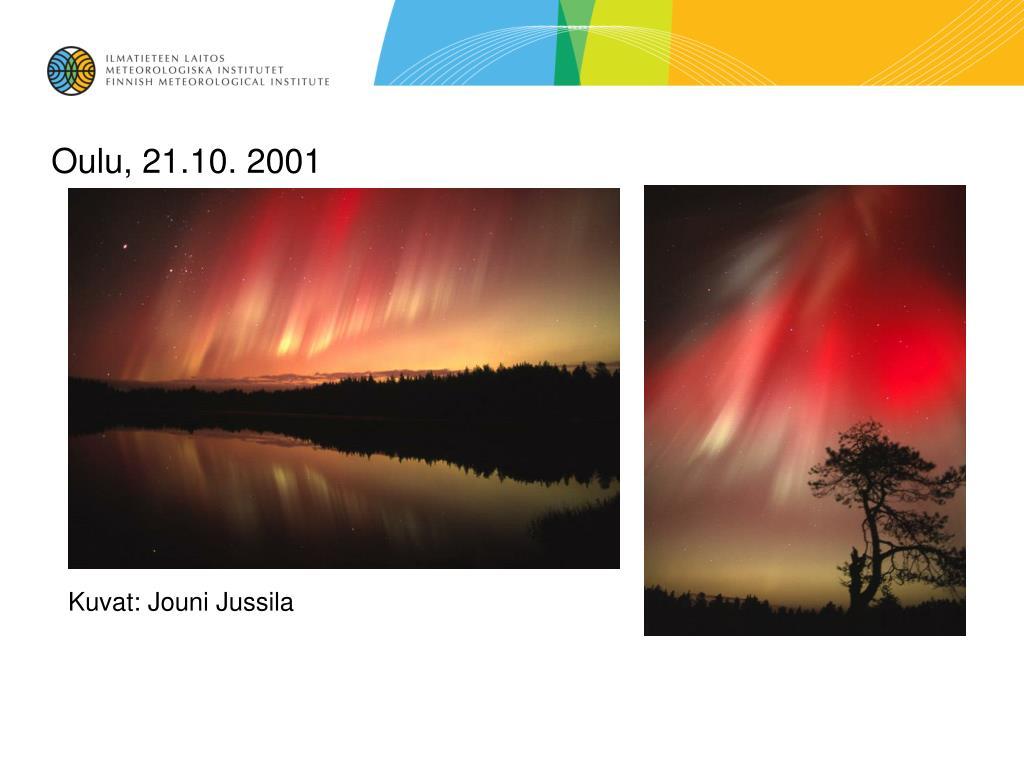 Oulu, 21.10. 2001