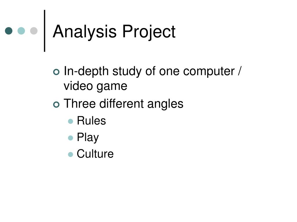 Analysis Project