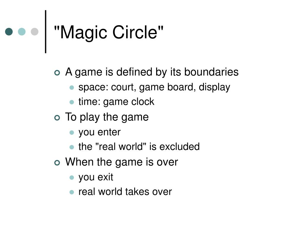 """Magic Circle"""