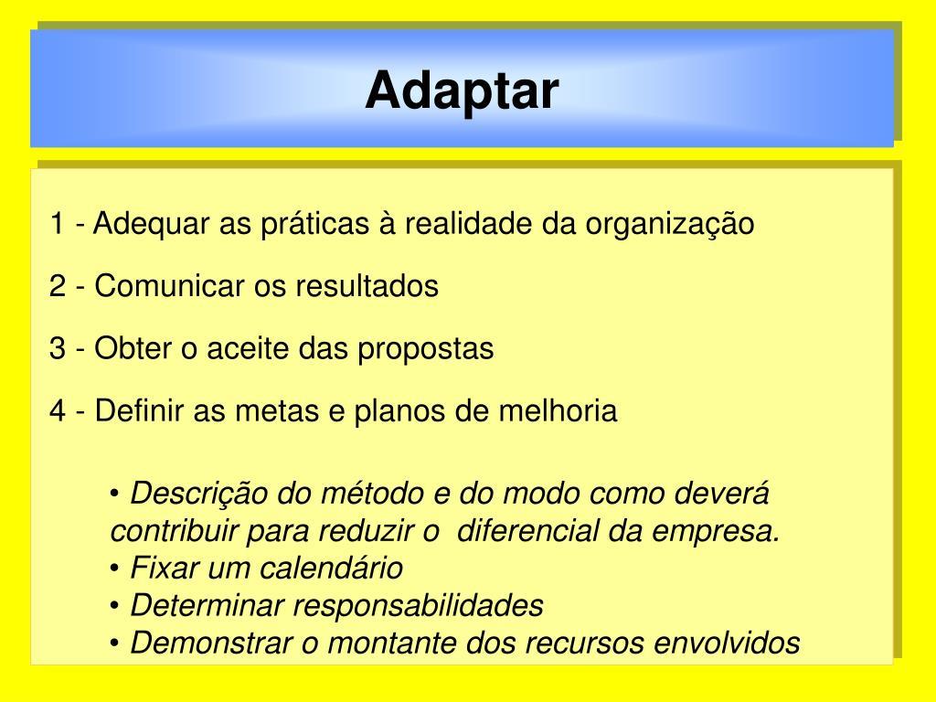 Adaptar