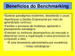benef cios do benchmarking