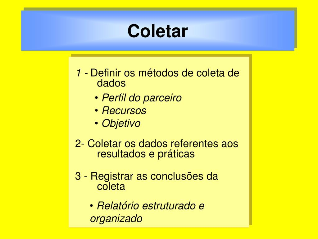 Coletar